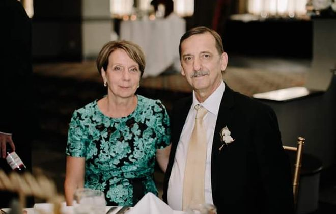 Vietnam veteran Richard Charles Canazzi, pictured here with his wife, Mary, died of Covid-19 complications at age 69. (Photo courtesy of Rich Canazzi)