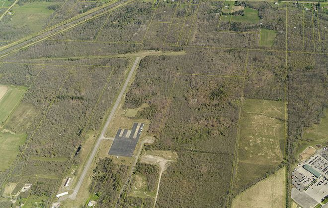 Erie County officials are planning an agribusiness industrial park at the former site of the Angola airport. (Photo courtesy of the Erie County industrial Development Agency)