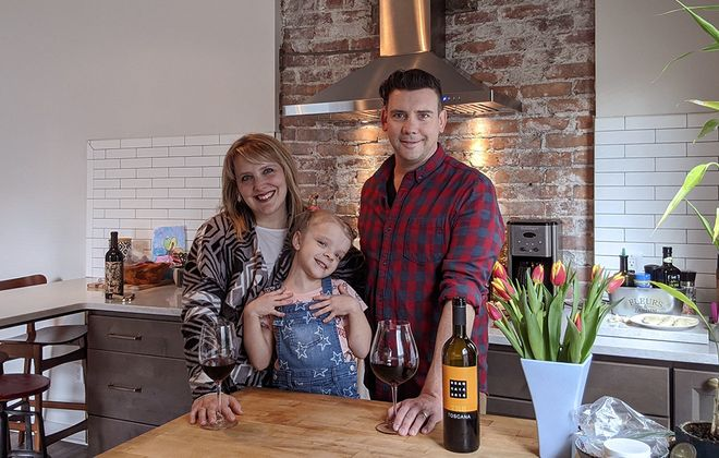 Jason Ryder loves cooking for his wife, Jessica, and 6-year-old daughter Gianna. (Jason Ryder)