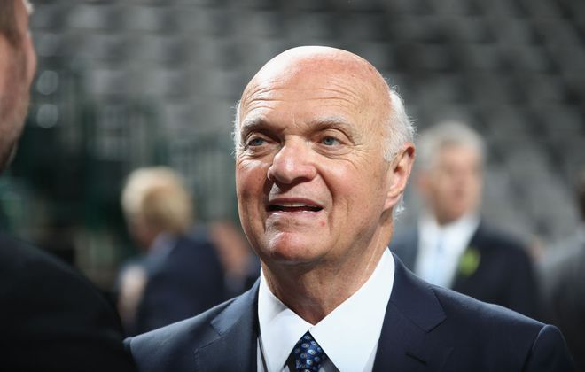 Lou Lamoriello has been general manager of the Islanders since May, 2018 (Getty Images).