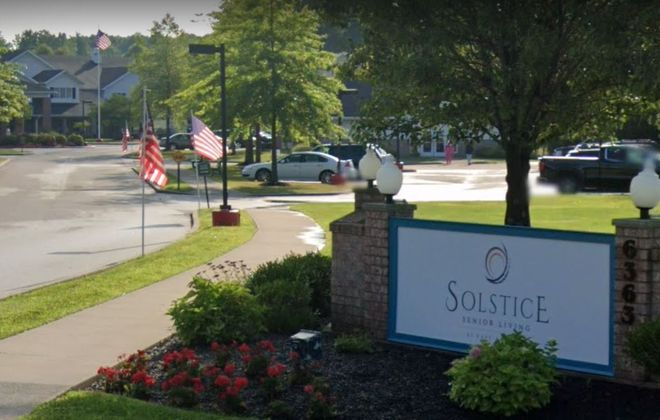 Solstice Senior Living at East Amherst, on Transit Road in Clarence. (Google Images)