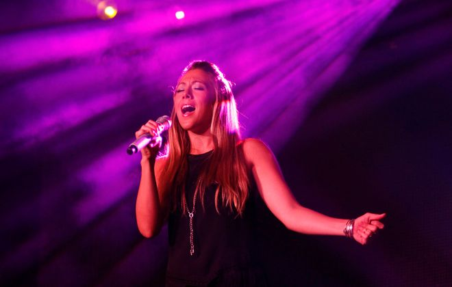 Colbie Caillat, pictured performing in Niagara Falls in 2014, will bring her new country-pop band, Gone West, to Sahlen Field. (Sharon Cantillon/News file photo)