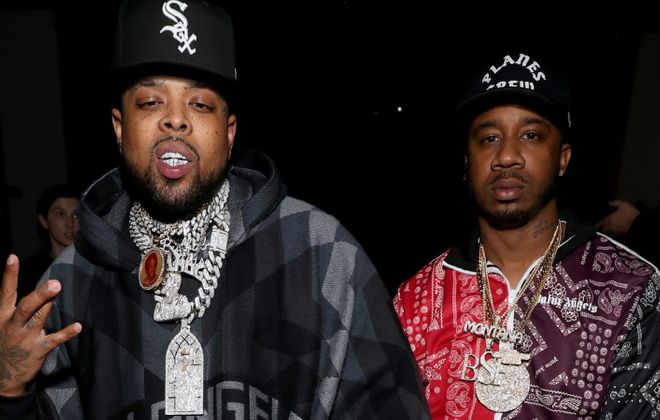"Westside Gunn, left, the 37-year-old rapper from Buffalo, announced he is ""a corona survivor,"" and that he is now on the other side of a battle that lasted several weeks. (Bennett Raglin/Getty Images for NYFW: The Shows)"