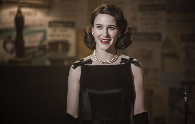 "Rachel Brosnahan won an Emmy — among other awards — for her portrayal as the lead character in ""The Marvelous Mrs. Maisel."" (Amazon Studios)"