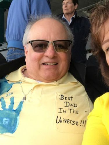 Theodore X. Catalano of Angola, on left, died March 29, 2020 from Covid-19 complications at Buffalo General Hospital, said his wife, Karen, on right. (Photo courtesy of Karen Catalano)