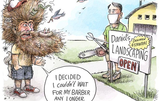Quarantine hair: May 28, 2020