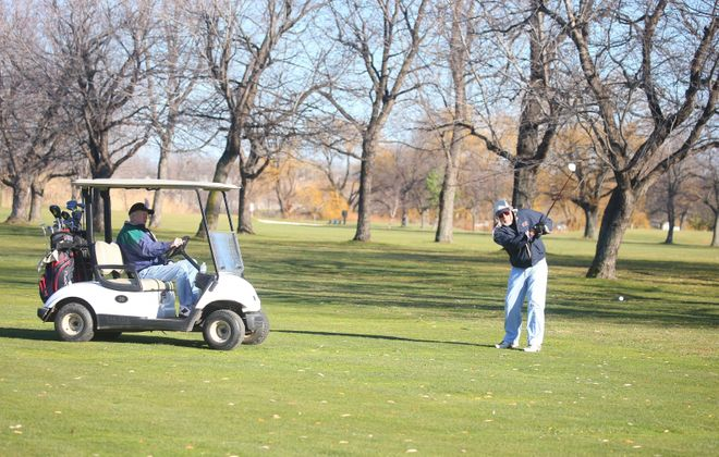 Current regulations have banned golf carts.(John Hickey/Buffalo News file photo)