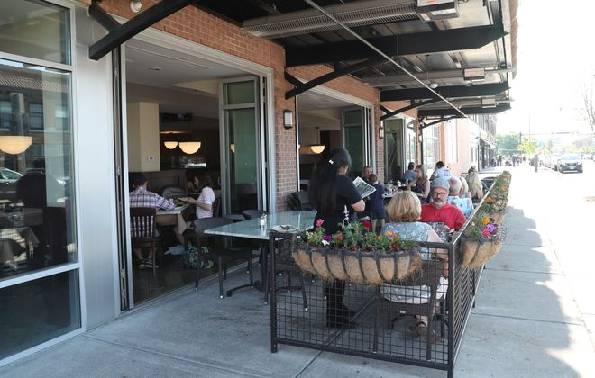 More Buffalo restaurants could be offering outdoor seating, like Mac's on Hertel Avenue. (James P. McCoy/Buffalo News file photo)