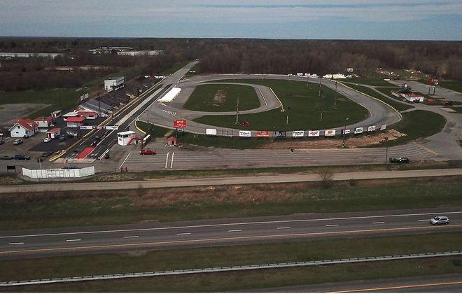 Improvements continue at New York International  Raceway Park. (John Hickey/Buffalo News)