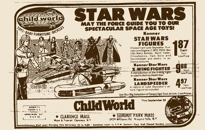 A 1978 ad for ChildWorld.