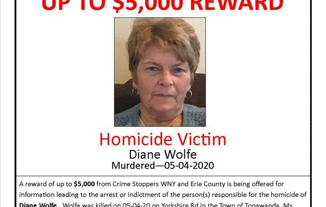 Reward offered for arrest in Town of Tonawanda homicide