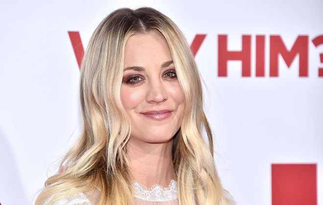"Kaley Cuoco stars in a new HBO Max series titled ""Flight Attendant."" (Mike Windle/Getty Images)"