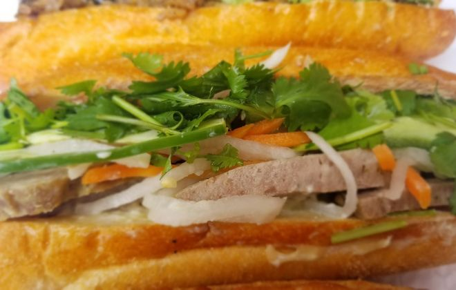 The traditional banh mi from Middle Sister Sandwiches runs for $8.50. (via Middle Sister)