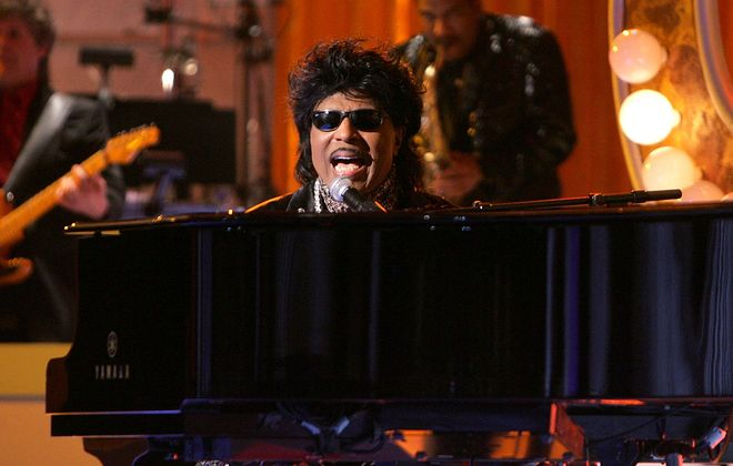 Musician Little Richard performs on stage at the 2005 TV Land Awards show. (Kevin Winter/Getty Images)