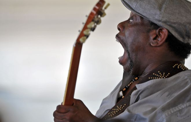 Buffalo's Lucky Peterson was a child prodigy who became one of the most thrilling electric blues artists of his generation. (Getty Images)