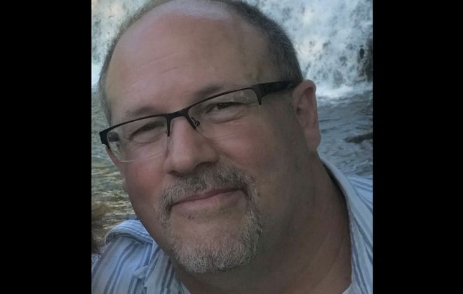Mark Schroeder, 54, died from Covid-19 at Buffalo General Medical Center on April 22, 2020 while recuperating from heart surgery, according to his life partner, life partner, Amy Abbey. (Provided photo)
