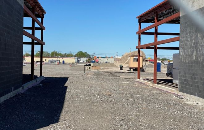 WS Development won't restart work at the former Northtown Plaza site until the retail climate has improved. (Stephen T. Watson/Buffalo News)