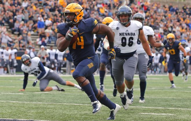 Toledo's Reggie Gilliam, who signed with the Bills as an undrafted free agent, has been used as a fullback, tight and on special teams. (Toledo football)
