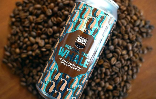 Mocha, the Whale from Community Beer Works has flavors of vanilla, chocolate and cold-brew coffee. (Photo courtesy of Community Beer Works)
