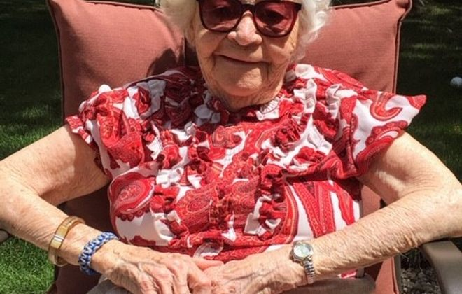 Arline Yaw died on April 29, 2020 after testing positive for Covid-19 at Father Baker Manor nursing home in Orchard Park. (Provided by Cheryl Wind)