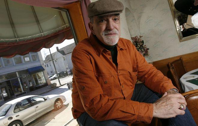 Joey Giambra, poet and soul of Buffalo's West Side. (Sharon Cantillon/Buffalo News)