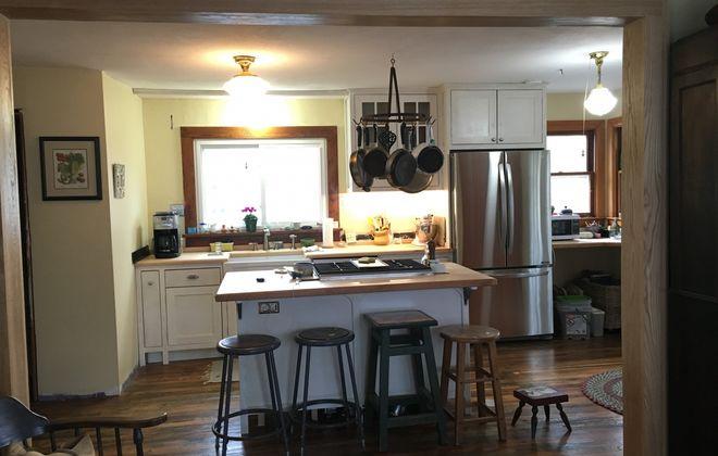 Nell Gardner's kitchen, as it looks today.  (Photo courtesy Nell Gardner)