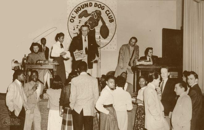 "A Buffalo record hop with George ""Hound Dog"" Lorenz."