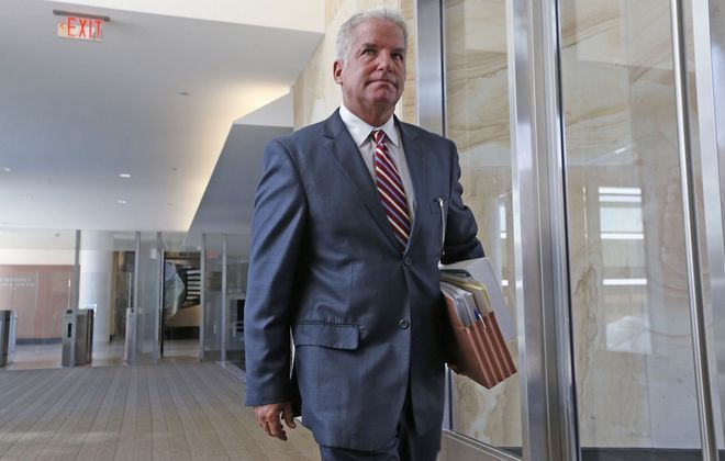 U.S. Attorney James P. Kennedy is watching local governments and the state with an eye toward deciding if their virus-related restrictions on liberty pass Constitutional muster.  (Robert Kirkham/News file photo)