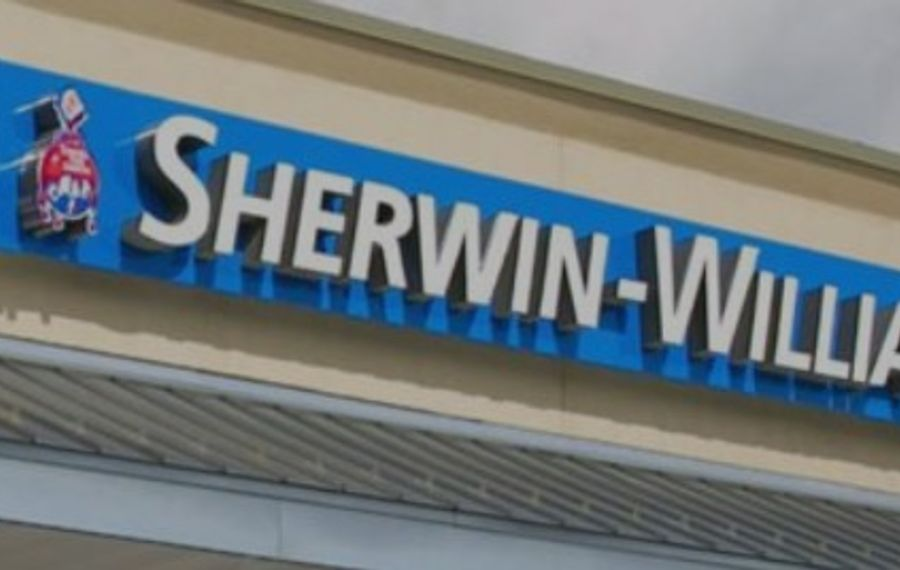 Sherwin-Williams store near completion at Delaware Consumer Square