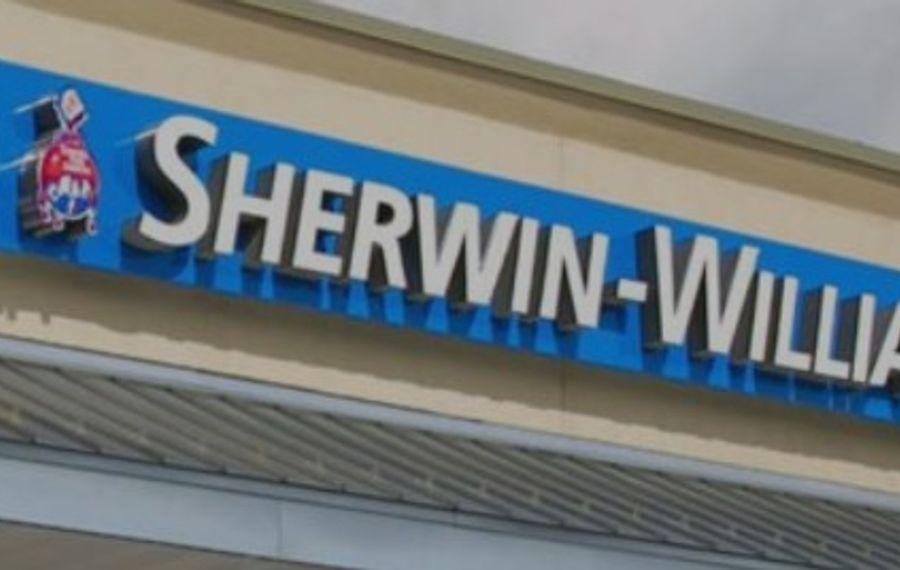 Sherwin-Williams store near completion at Delaware Consumer Square