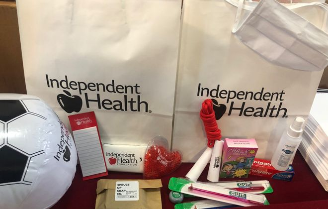 10,000 wellness bags to be distributed at Buffalo schools