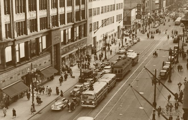 Torn-Down Tuesday: Main Street in 1950 vs. 2020