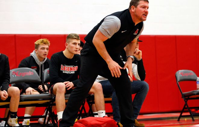 Lancaster coach Ron Lorenz is stepping down. (Harry Scull Jr./News file photo)