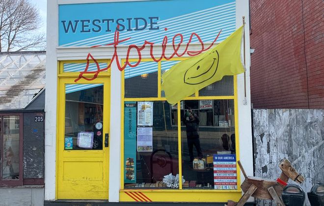 Westside Stories on Grant Street is one of two used bookstores that will shutter due to the Covid-19 pandemic. (Photo courtesy of Westside Stories)