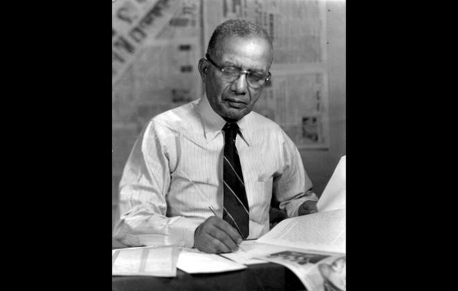 A.J. Smitherman, publisher of Buffalo's old Empire Star and survivor of the Tulsa massacre. (Provided photo)