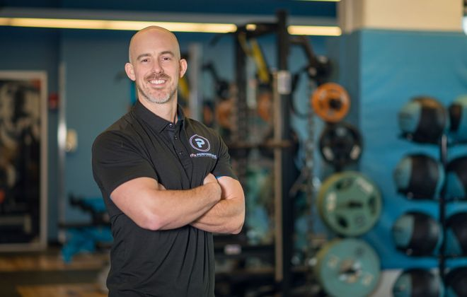 It will be important to pay attention to how your fitness center or studio handles health and safety needs when they are allowed to reopen as the Covid-19 pandemic eases in the region, says Brian DeLuca, director of Impact Sport Performance at UBMD Orthopaedics and Sports Medicine. (Photo courtesy of UBMD Ortho)