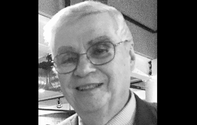 Dennis Golombek, 75, was a newspaper reporter, Erie County sheriff's deputy and a North Tonawanda middle school art teacher before he died May 11, 2020 after testing positive for Covid-19, his wife, Marie Golombek said. (Provided by Marie Golombek)