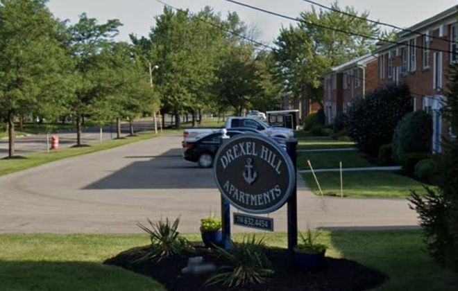 Drexel Hill Apartments on Evans Street in Williamsville will undergo extensive improvements following their $13.5 million sale this week to a real-estate partnership. (Google Images)