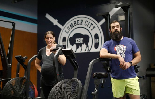 Dr. Jennifer Greco and her brother Matthew Douglas, owners of Lumber City Athletics, dropped their affiliation with CrossFit after inflammatory remarks by CrossFit founder and CEO Greg Glassman. (Derek Gee/Buffalo News)