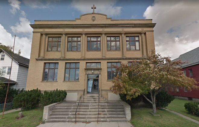 The former St. Valentine's Roman Catholic Church on South Park Avenue could become home to a new charter school. (Google)