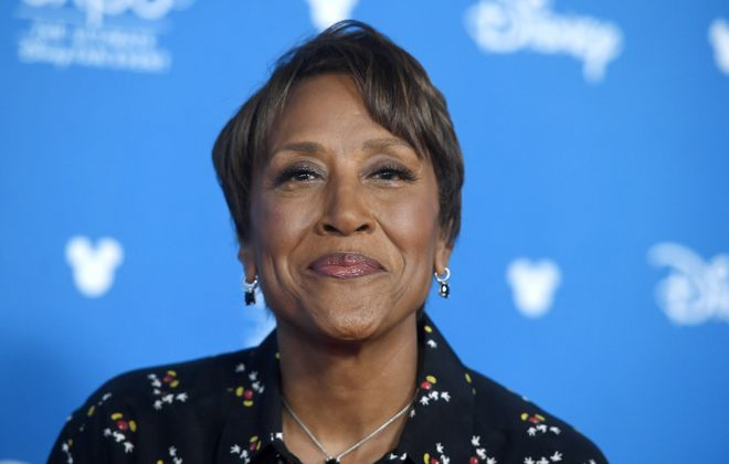 "Disparaging remarks about popular ""Good Morning America"" host Robin Roberts are causing trouble for an ABC executive. (Getty Images)"