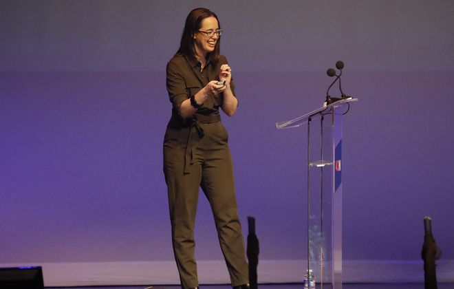 Immersed Games, led by CEO Lindsey Tropf, was chosen for an A&T accelerator. (Mark Mulville/News file photo)