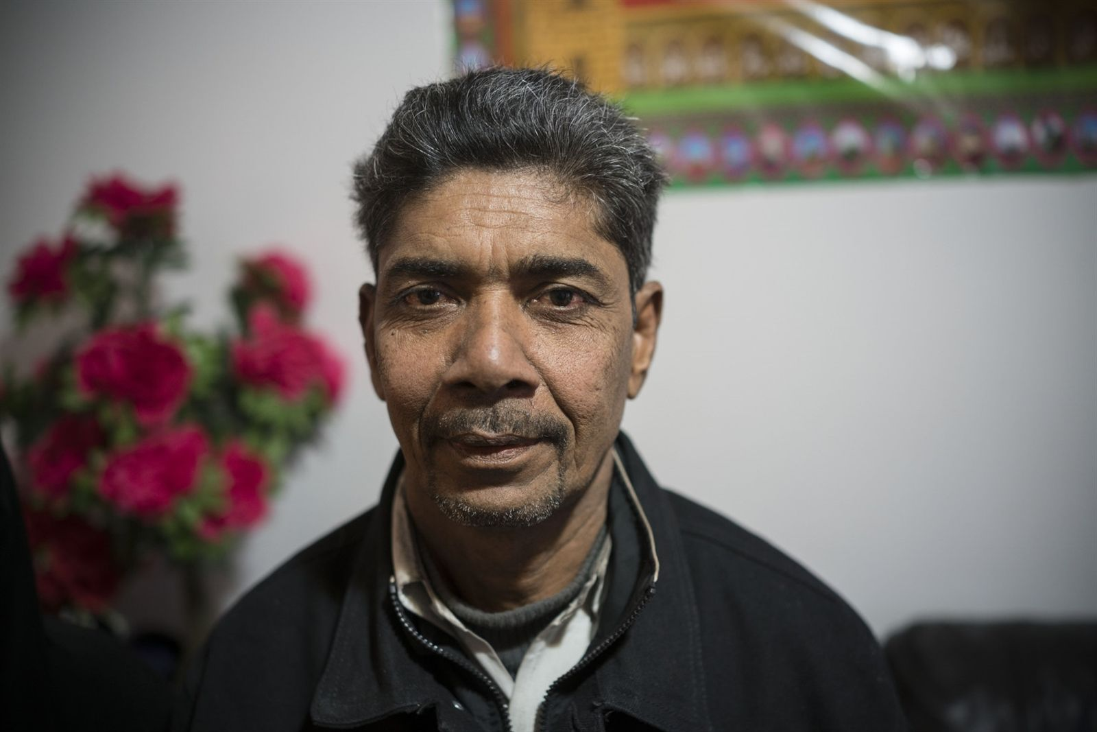 """""""It is a helpless feeling,"""" said Shamsul Alam of what it's like to get reports of recent horrors in his homeland."""