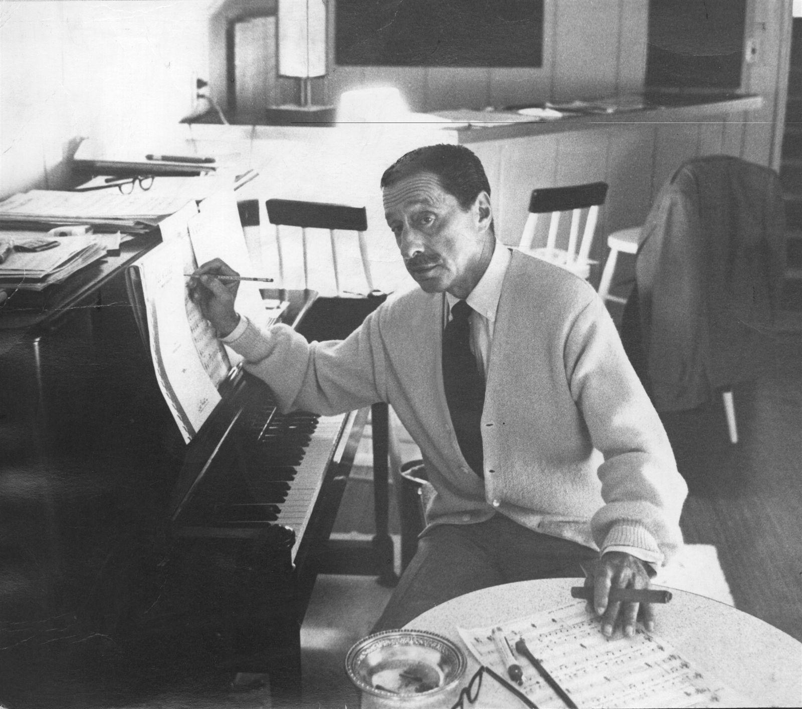"""Harold Arlen. Composer of some of the most celebrated songs in the Great American Songbook, including """"Over the Rainbow"""" for """"The Wizard of Oz."""""""