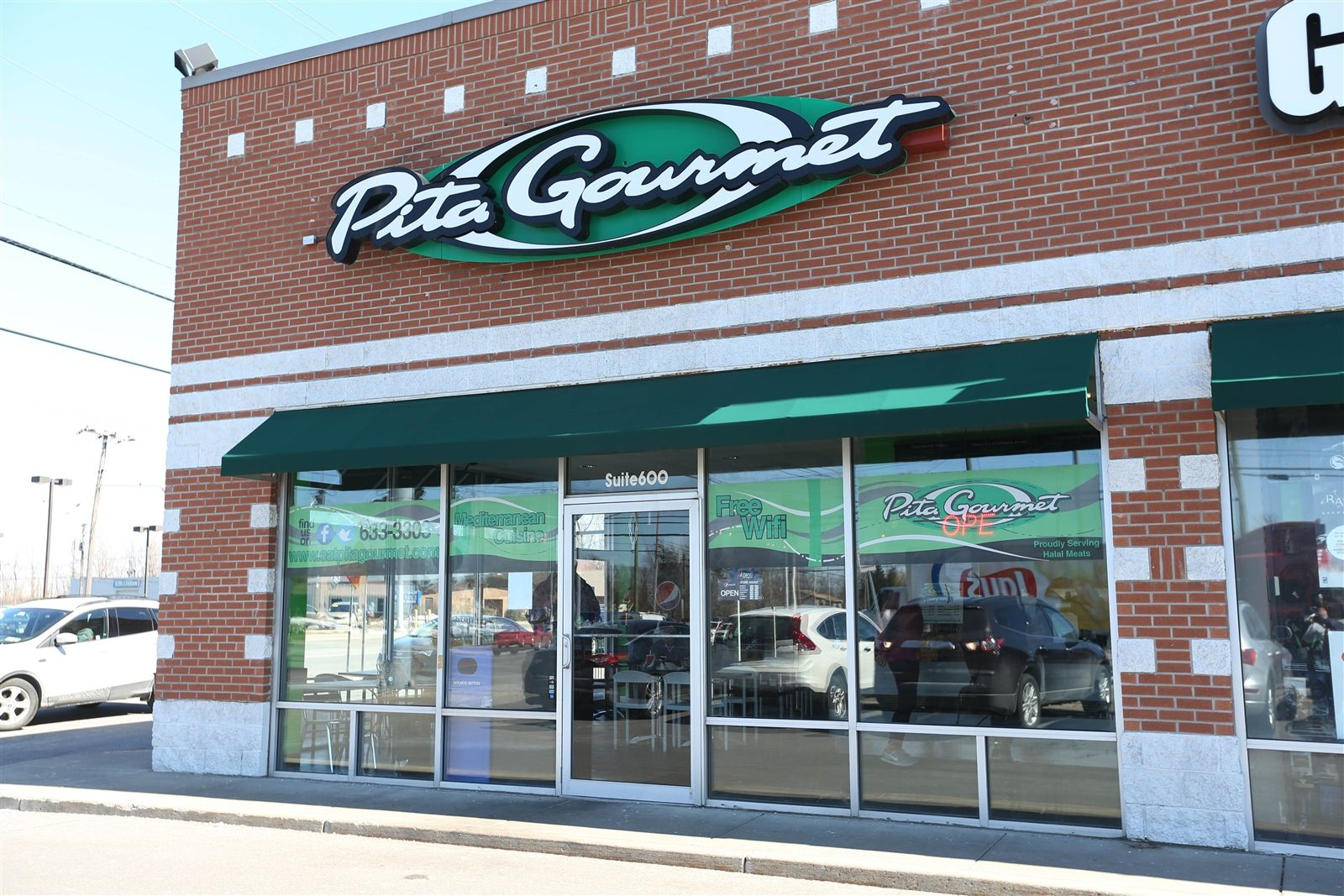 Pita Gourmet  at 6733 Transit Rd. in Lancaster offers authentic Greek and Mediterranean cuisine.