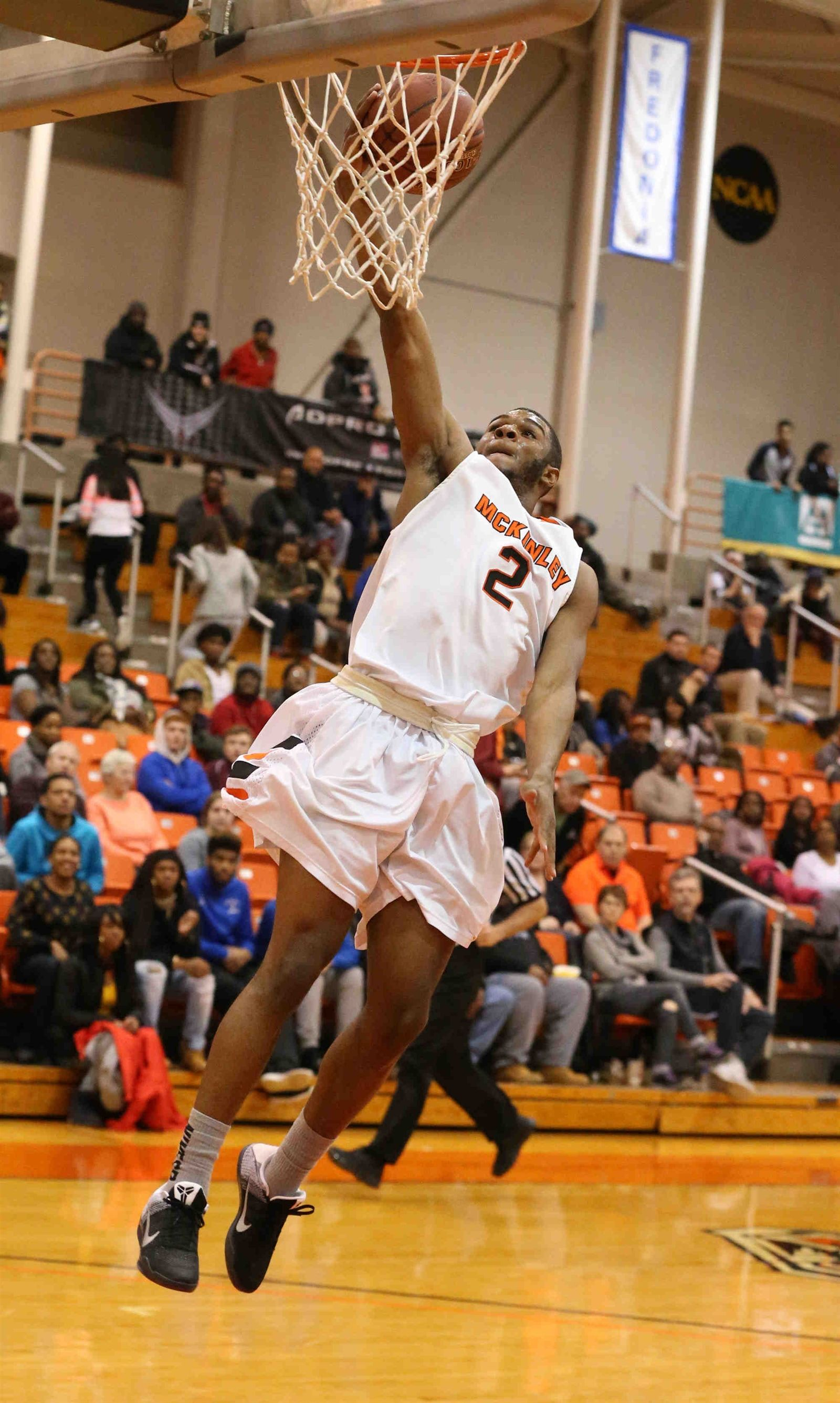 McKinley's Shaquan Jones steals the ball from South Park's Tyree Brown in the first half during the in the A-1 semifinal at Buffalo States Sports Arena in Buffalo on Wednesday, Feb. 24, 2016.