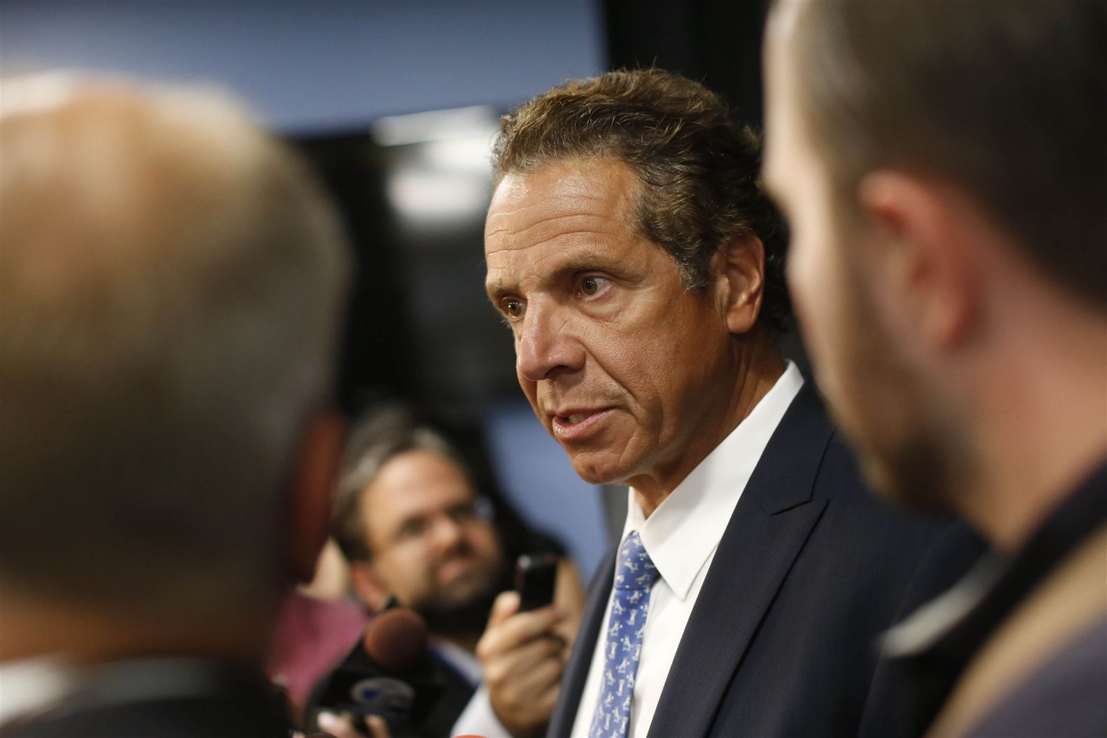 New York Gov. Andrew Cuomo ($350,000).  Cuomo says he will u201cset asideu201d money he received until the conclusion of the legal case.