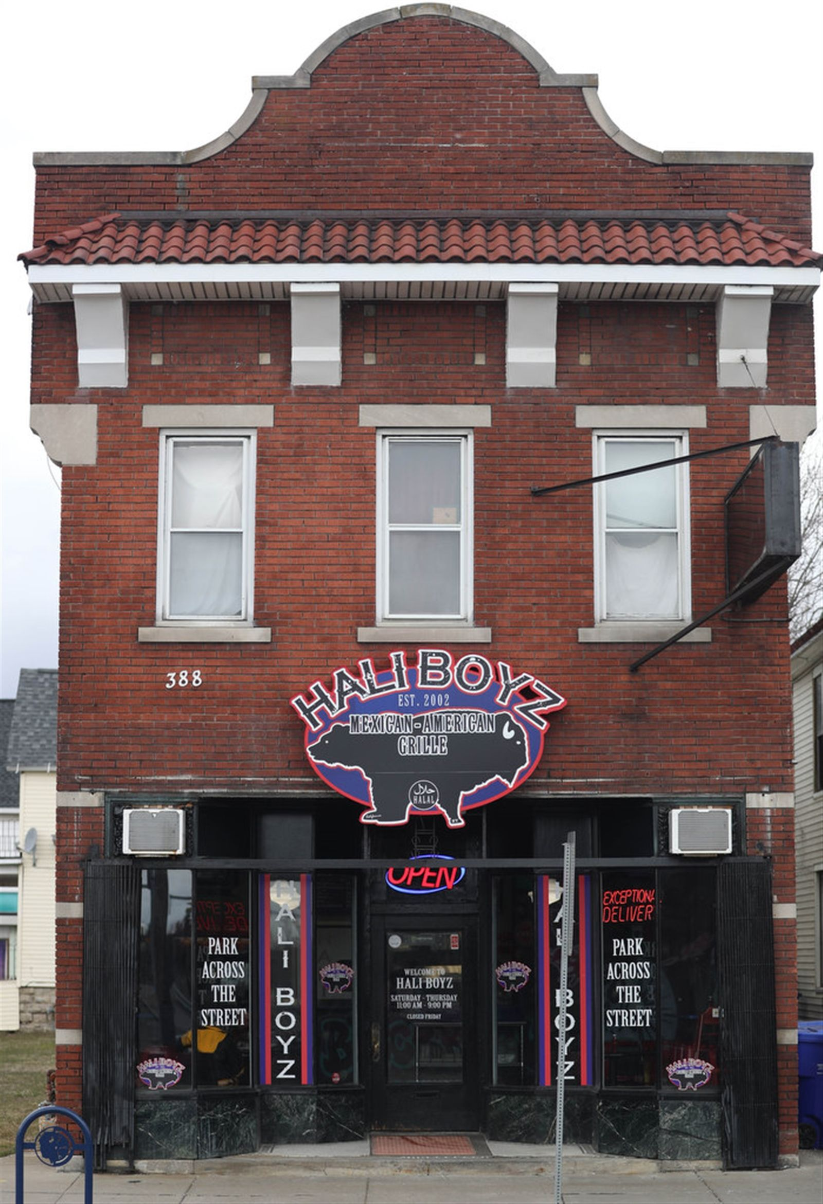 Hali Boyz Mexican-American Grille is at 388 Amherst St. at the corner of Grant Street.