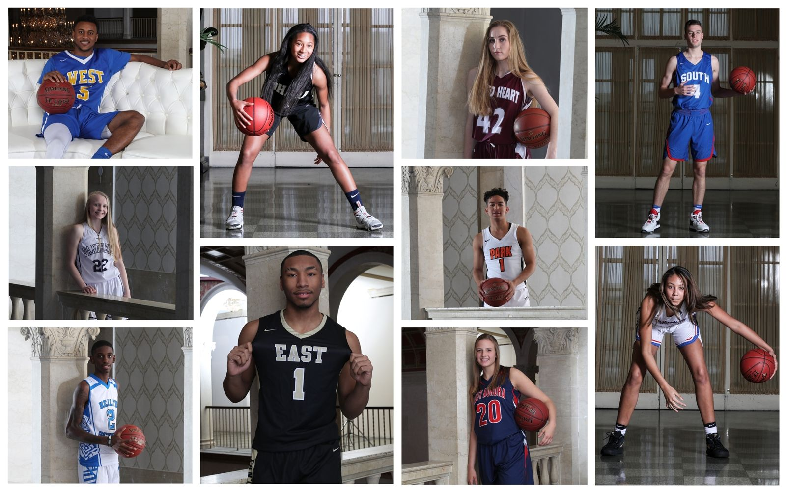 It's time for the best in high school basketball: The All-Western New York first team. Meet the team, selected by The News, and check out what made them the best five boys and girls players in the area.