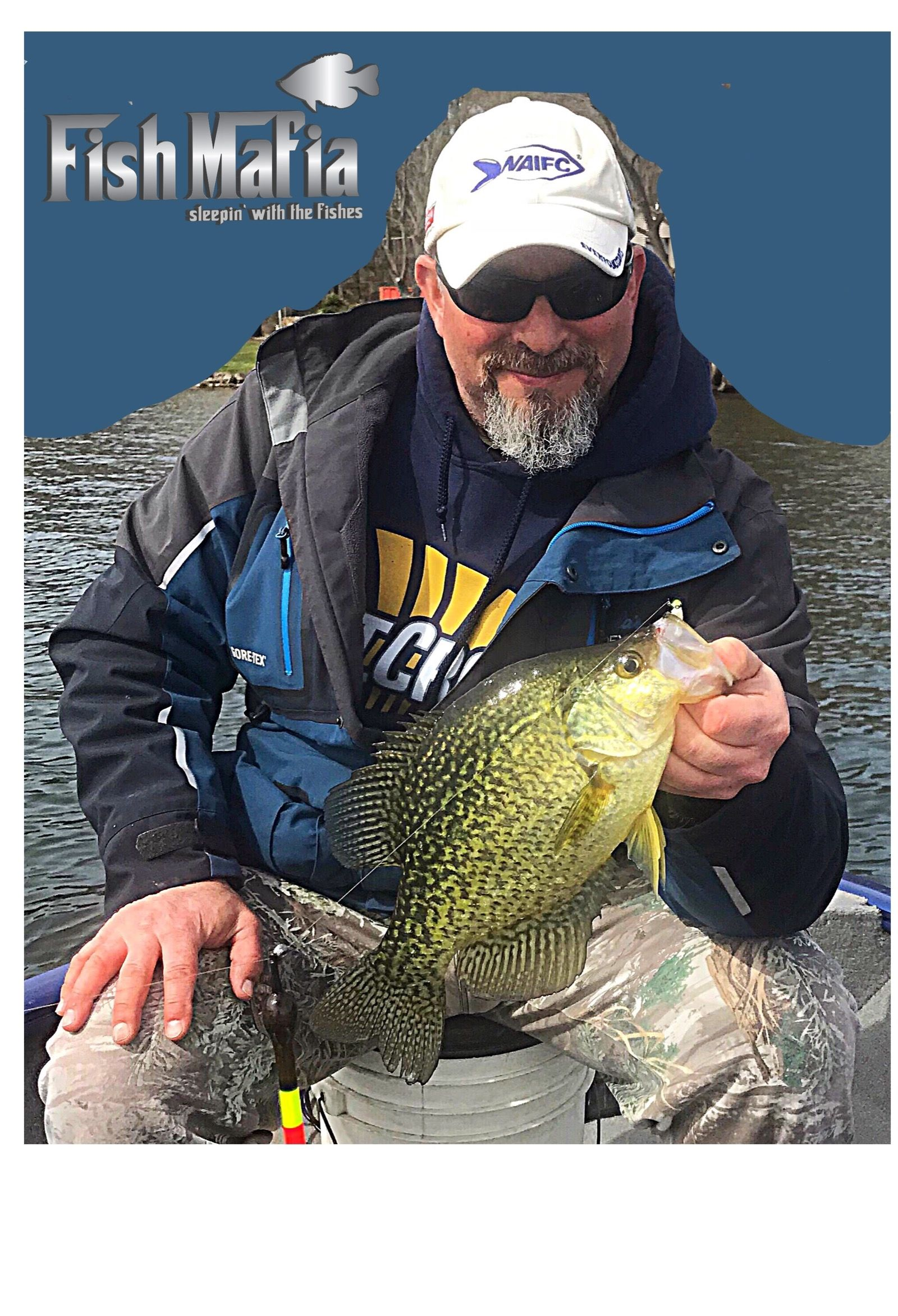 Joh Battastella of Cheektowaga caught some beautiful Crappies Saturday on Chautauqua Lake. He reports that there are a few tremendous year classes of fish showing up this year, with many Black Crappies in the 12-14 inch range. This is a 14-inch slab that went 1.75 lbs.  She fell prey to a very slow methodical jigging cadence with small finesse plastics, as the fish were there but due to painfully calm conditions along with clear waters they needed to be coaxed into hitting. He ended up using Maki Plastics on small tungsten jigs to get the fish to commit.